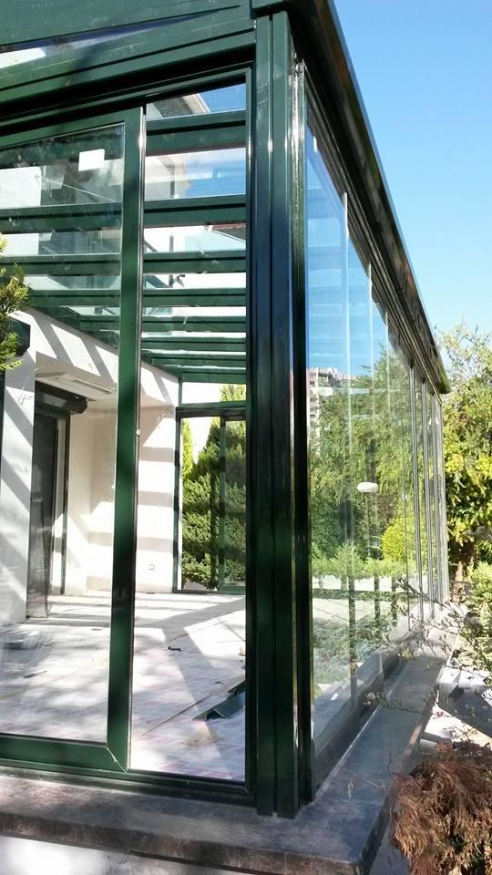 cam çatı İzmir