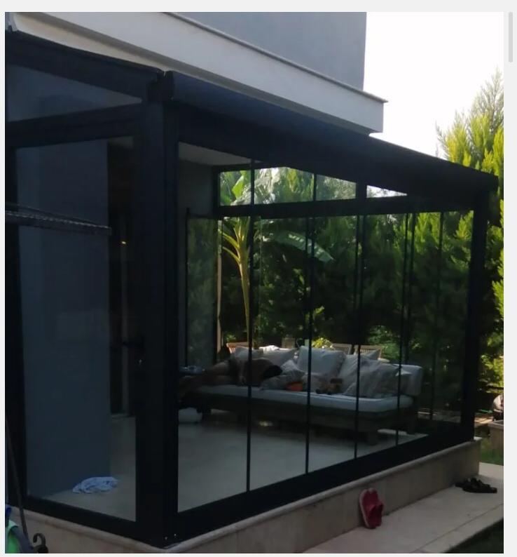 kış bahçesi için cam tavan