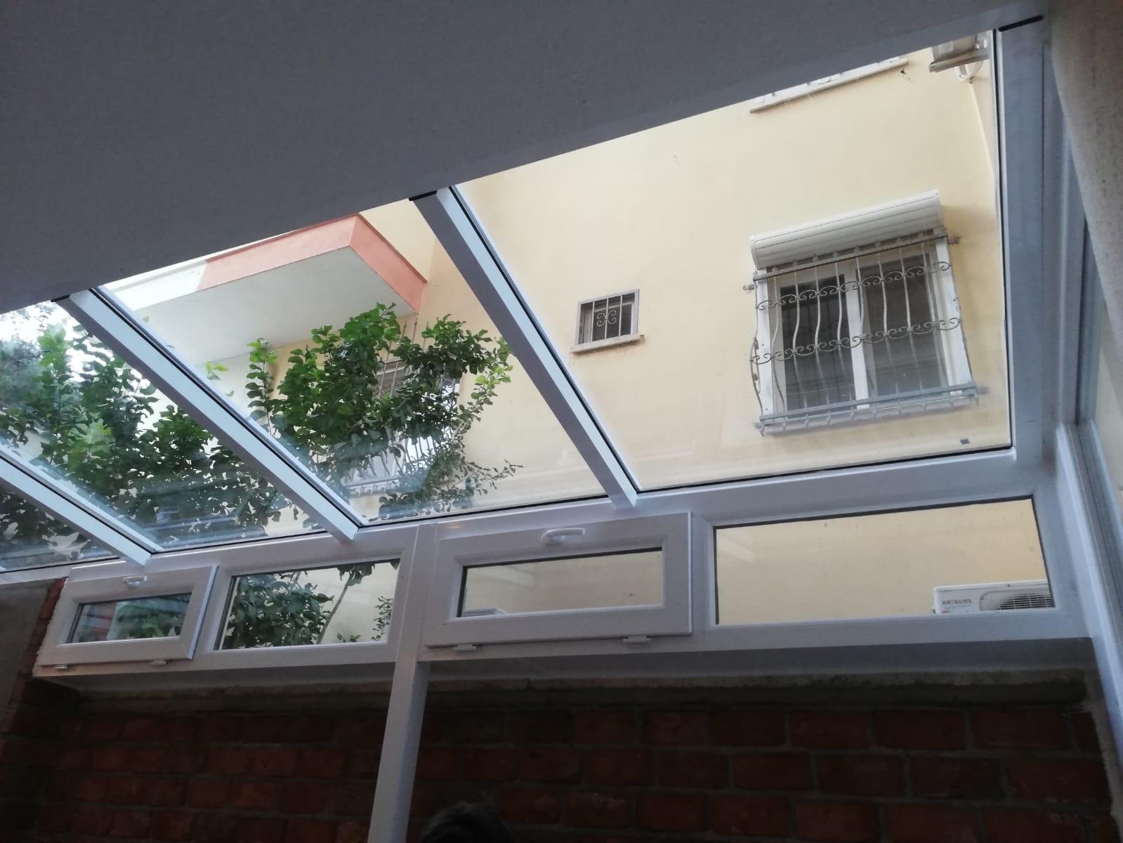 cam tavan çeşitleri İzmir