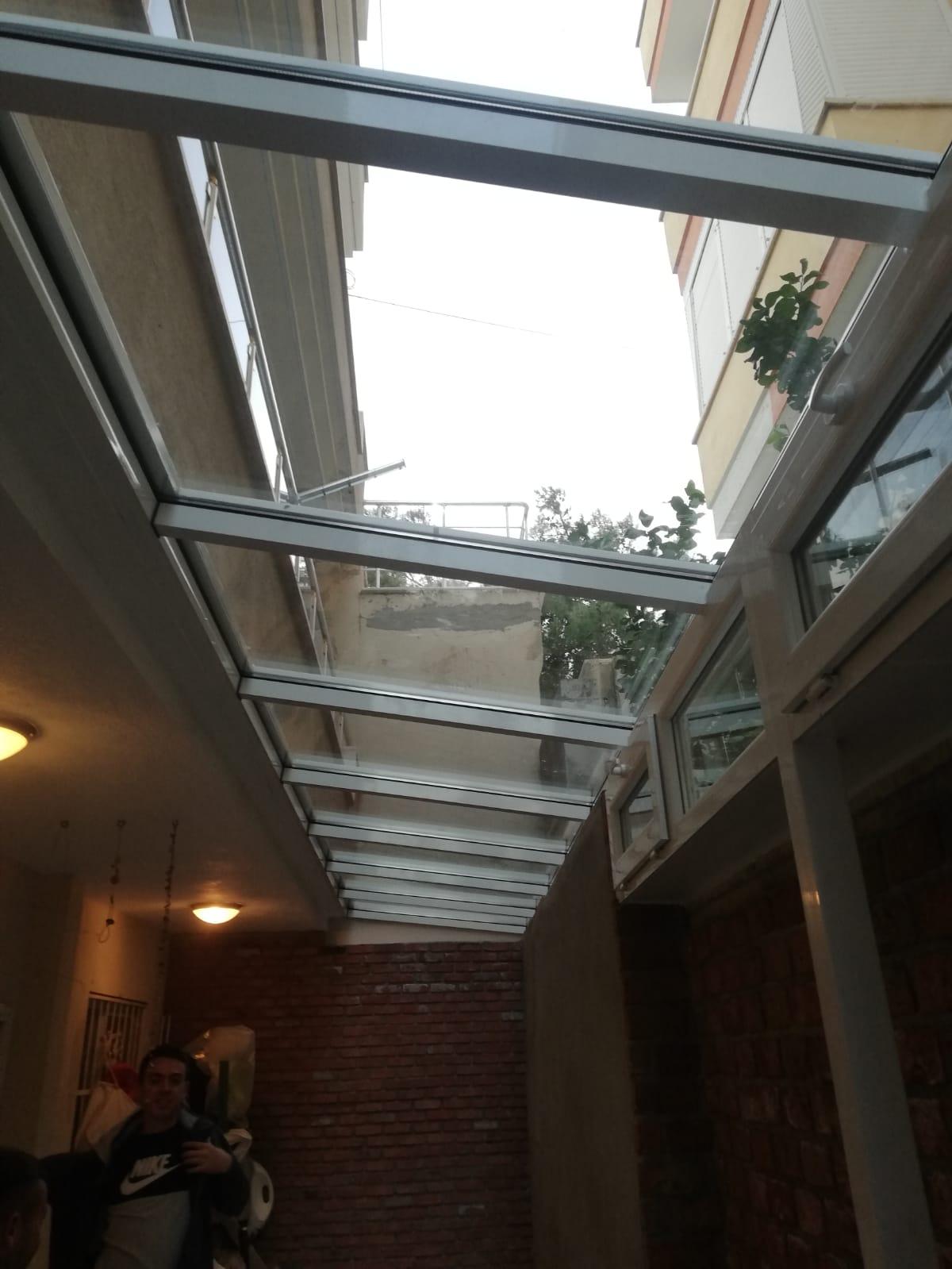 ısıcamlı cam tavan İzmir