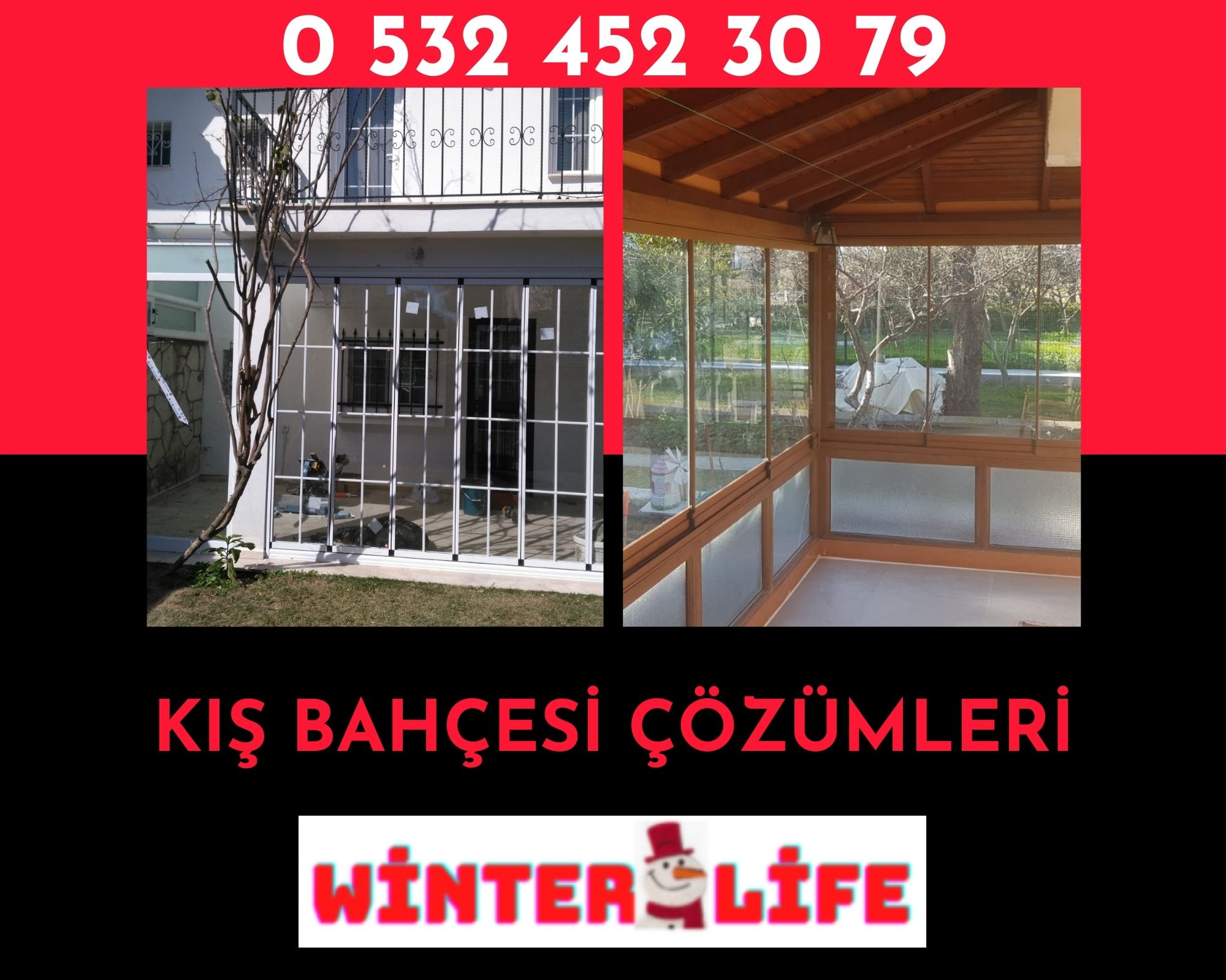 İzmir kış bahçesi sistemleri
