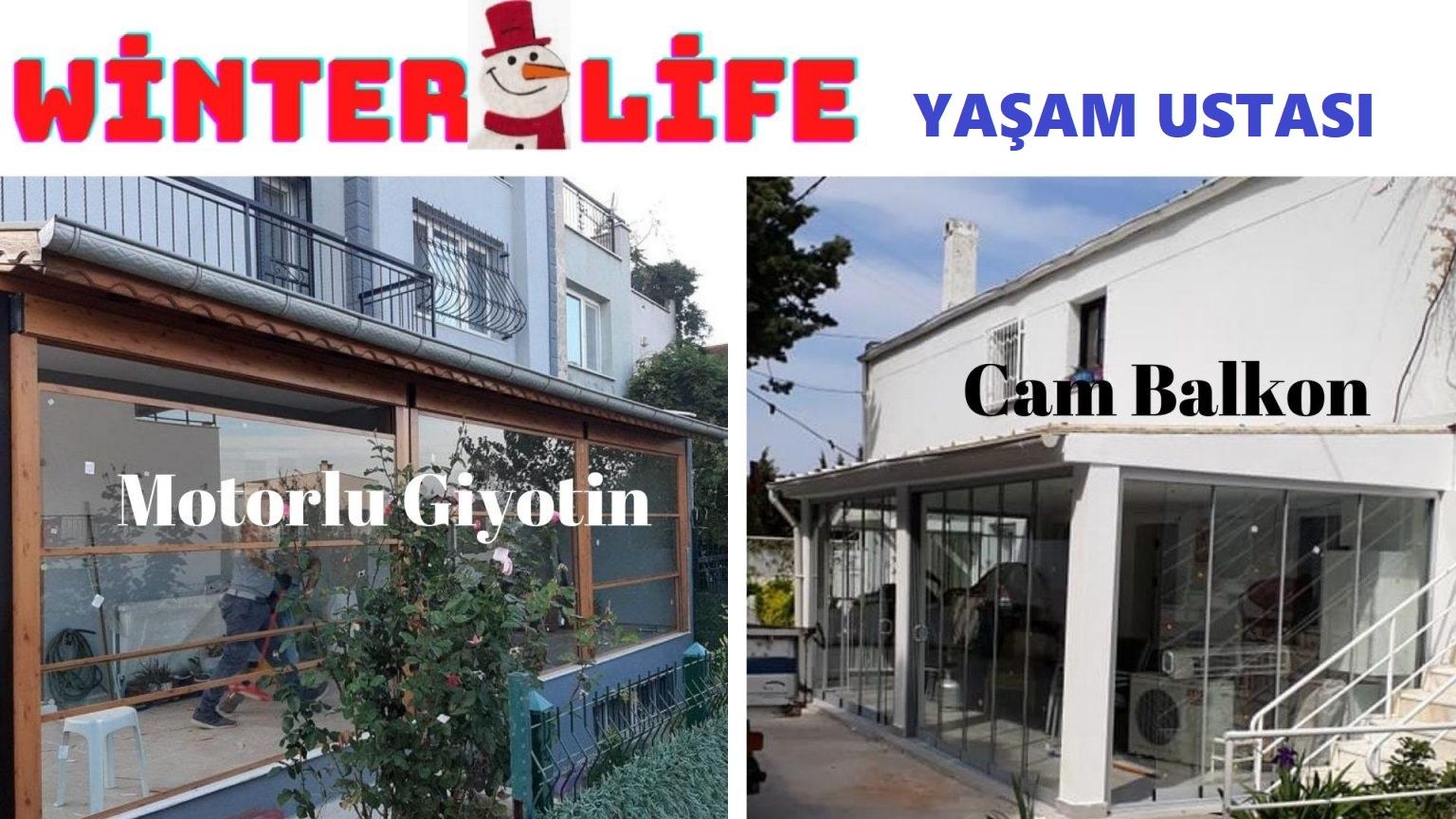 Kış bahçesi uygulama modelleri İzmir