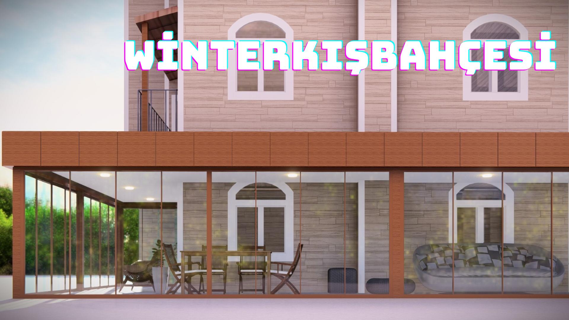 Alçıpan tavan kaplama kış bahçesi